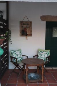 Uma área de estar em Casa do Alambique
