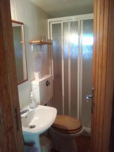 Uma casa de banho em Quinta da Mata