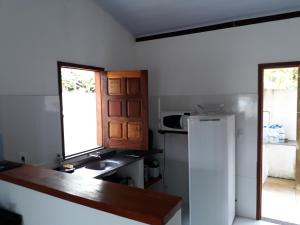 A kitchen or kitchenette at Casa Rancho Alegre