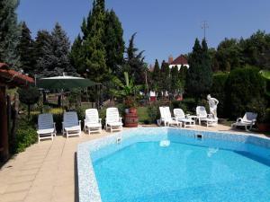 The swimming pool at or near Palatinus Apartmanok