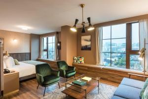 Zona de estar de Hotel Eco Boutique Bidasoa