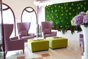 Posezení v ubytování Hotel Vittorio