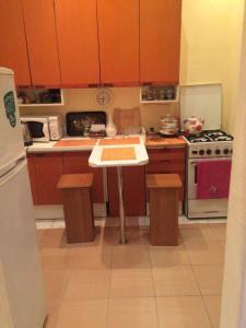 A cozinha ou cozinha compacta de Apartment Niyazi 5