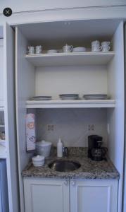 A kitchen or kitchenette at Apto no Il Campanario