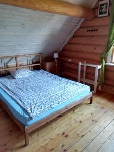 Кровать или кровати в номере Seliger Motel