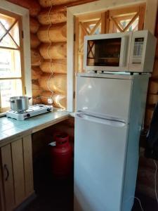 Кухня или мини-кухня в Seliger Motel