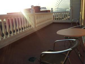 Un balcón o terraza de Tarik