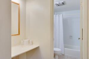 A bathroom at Zion Park Motel