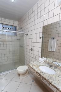 A bathroom at Hotel Express Confort