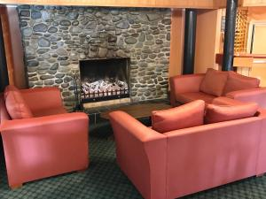 A seating area at The Village Inn Hotel