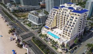 A bird's-eye view of The Atlantic Hotel & Spa