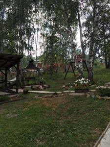 Сад в Шале в Абзаково