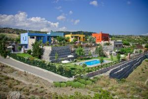 A view of the pool at Petroto Villas or nearby