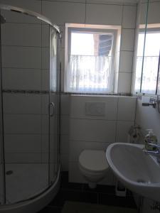 Ein Badezimmer in der Unterkunft Triebenerhof