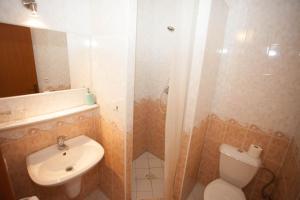 A bathroom at Hotel Taxis Bratislava
