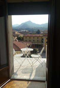 Ein Balkon oder eine Terrasse in der Unterkunft B&B Taramelli