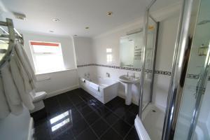 A bathroom at The Izaak Walton Hotel
