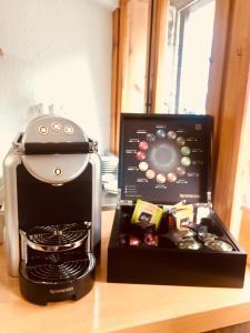 Coffee and tea-making facilities at Hotel Badaín