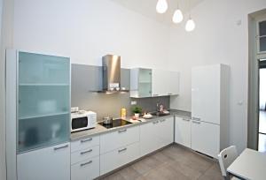 Küche/Küchenzeile in der Unterkunft River View Residence