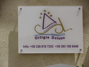 Logo o insegna della casa vacanze