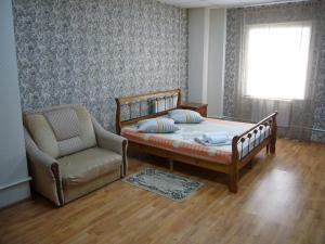Кровать или кровати в номере Гостевой дом «Дом Туриста»