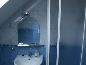 Kúpeľňa v ubytovaní Guest House Dominika