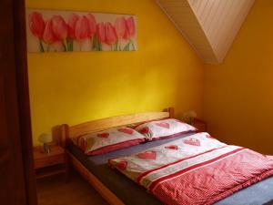 Posteľ alebo postele v izbe v ubytovaní Guest House Dominika