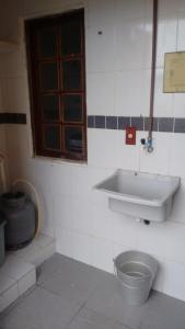 Um banheiro em Casa Arraial