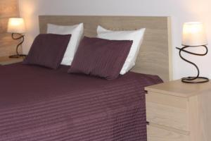 Кровать или кровати в номере Apartment Gut Haus
