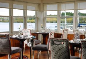 A restaurant or other place to eat at Trident Hotel Kinsale