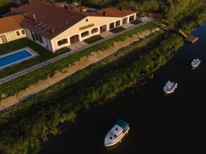 Бутик-отель Рыбзавод с высоты птичьего полета