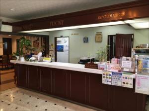 サンライズ観光ホテルのロビーまたはフロント