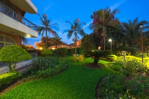 ホテル シェー ランドにある庭