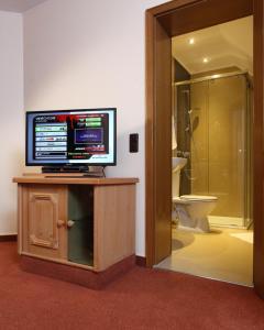TV/Unterhaltungsangebot in der Unterkunft Hotel Sieweburen