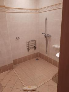 A bathroom at Hotel Maria