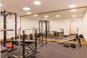 The fitness center and/or fitness facilities at Schöcklblick