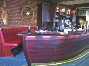 The lounge or bar area at Hotel Admiral Scheer