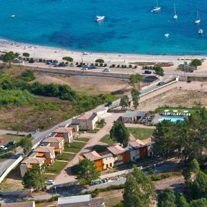 A bird's-eye view of Marina di Favona