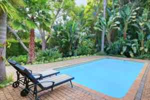 The swimming pool at or close to Aziza Guest House