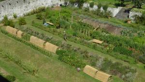 Uma vista aérea de Agriturismo La Derta
