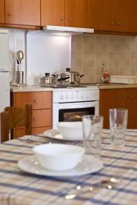 Η κουζίνα ή μικρή κουζίνα στο Ευαγγελία