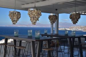 Εστιατόριο ή άλλο μέρος για φαγητό στο Hermes Mykonos Hotel