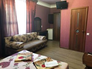Гостиная зона в Гостевой дом Афина