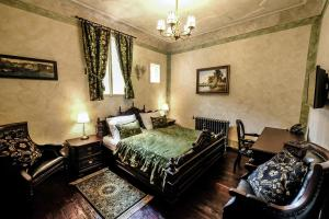 Postel nebo postele na pokoji v ubytování Hotel Ebersbach