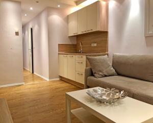 Küche/Küchenzeile in der Unterkunft Haus Elisabeth