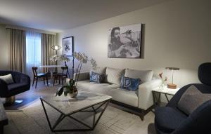 A seating area at Hard Rock Hotel Daytona Beach