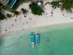 A bird's-eye view of Mama Beach Residence