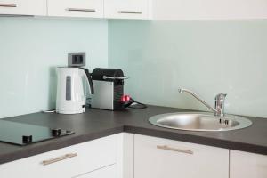 A kitchen or kitchenette at Marina Baotić Apartments