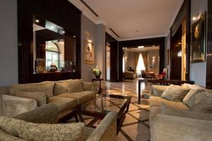 Гостиная зона в San Gallo Palace