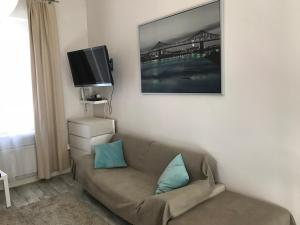 A television and/or entertainment centre at studio white